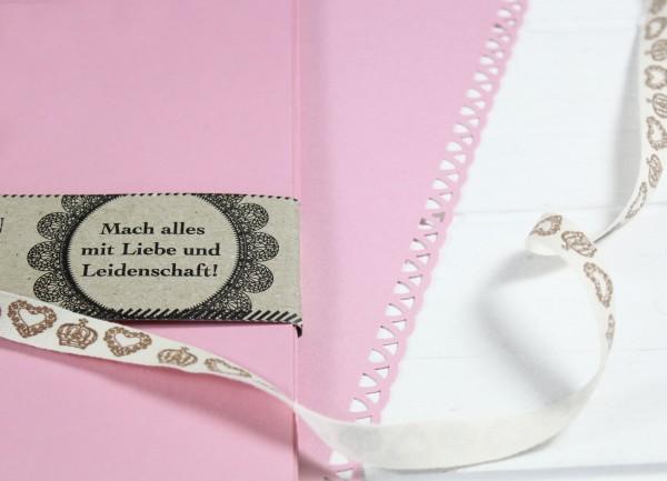 20 Blatt A4 Karton - Rosa