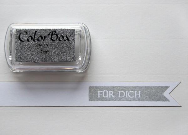 Pigment Stempelkissen Silber / Silver