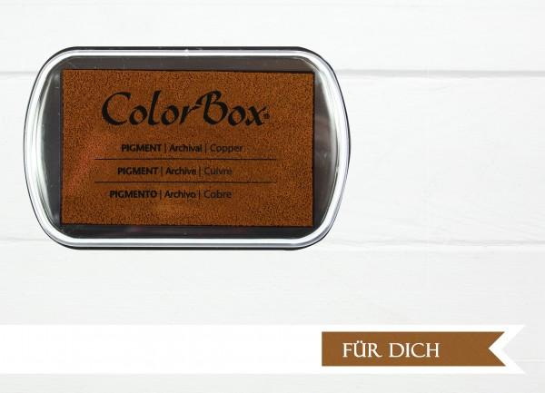 Pigment Stempelkissen Copper XL