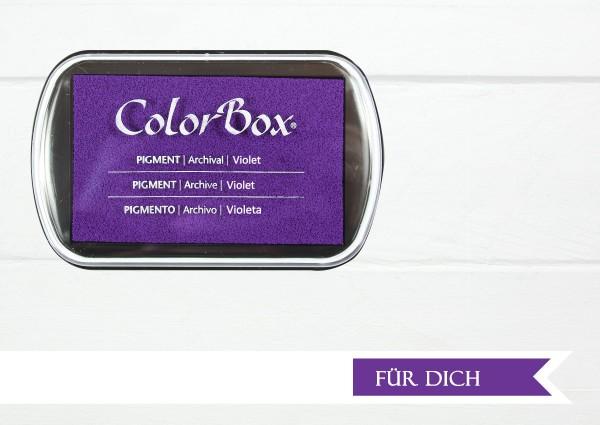 Stempelkissen Pigmentfarbe Violett Lila