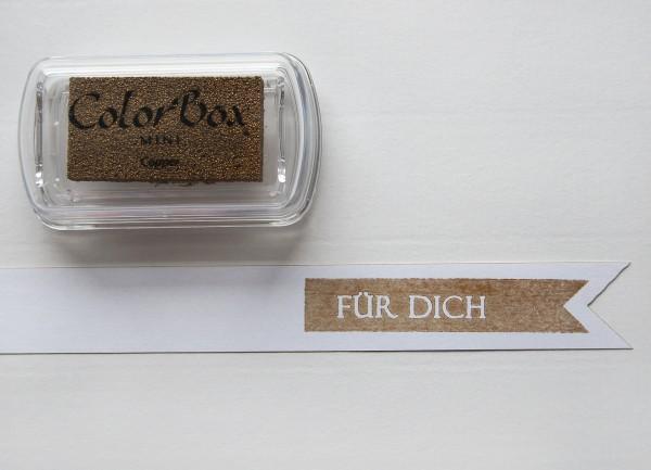 Pigment Stempelkissen Kupfer / Cooper