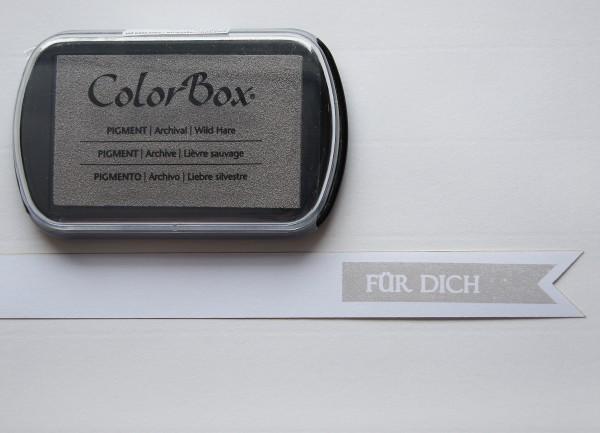 Pigment Stempelkissen Grau / Wild Hare XL