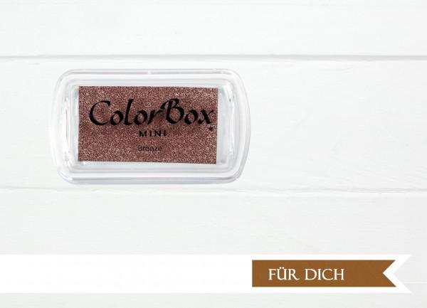 Pigment Stempelkissen Bronze