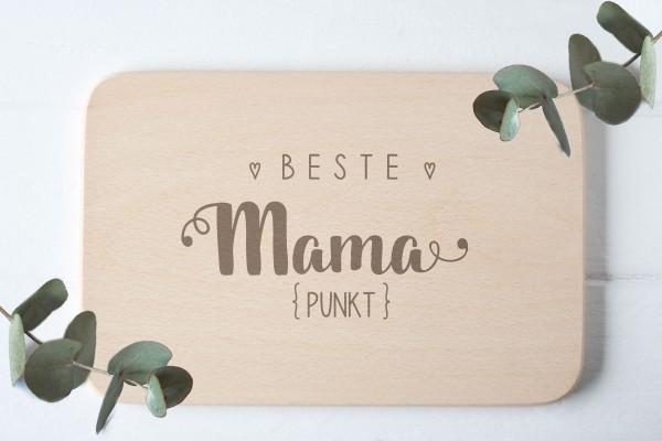 Kinderbrettchen Brotzeitbrettchen mit namen für Mama ganze Familie