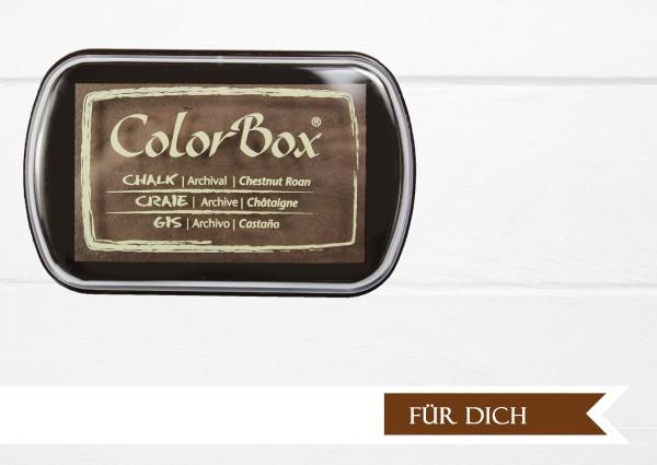 Chalk Stempelkissen Chestnut Brown XL