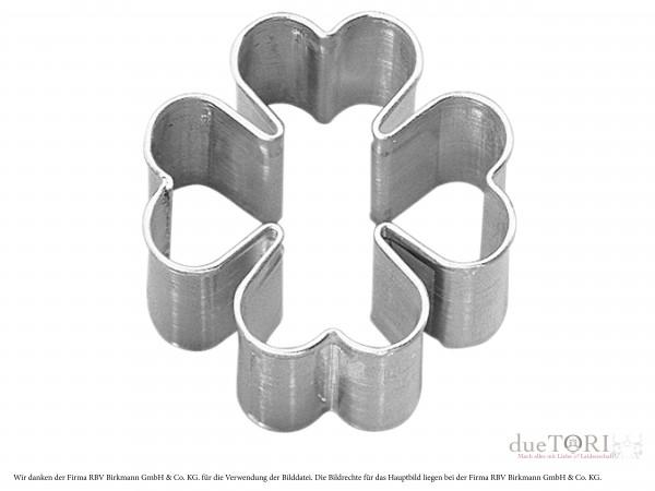Ausstechform Kleeblatt für Keksstempel