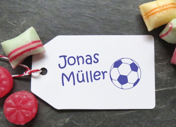 Stempel Fussball für Kinder