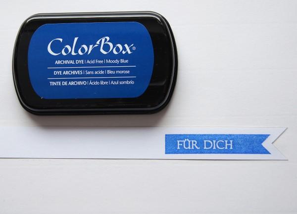 Tusche Stempelkissen Blau / Blue