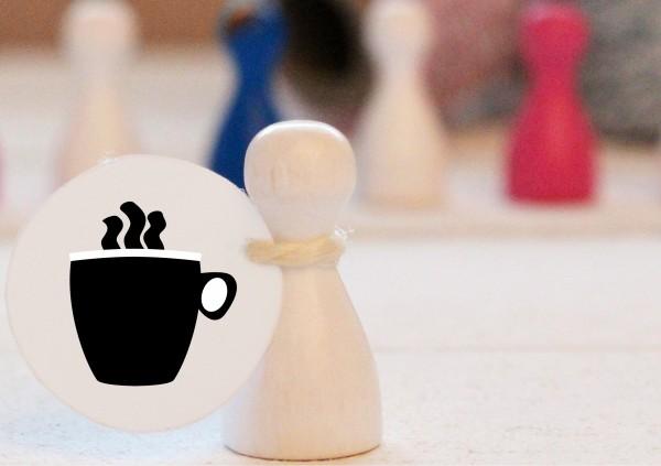 Mikrostempel Tasse Cappuccino