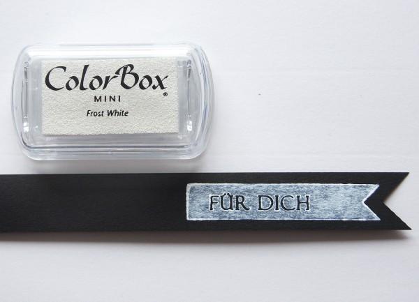 Pigment Stempelkissen weiß / white Frost