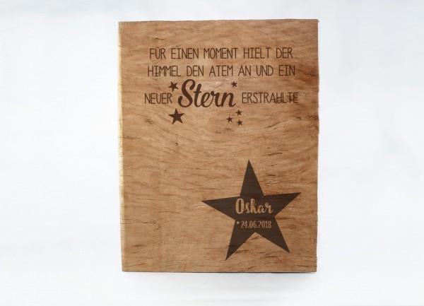 Fotoalbum A4 zur Geburt - ...ein neuer Stern