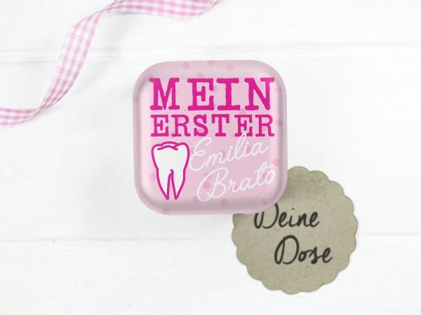 """Zahndose """"Mein erster Zahn"""" Mädchen"""