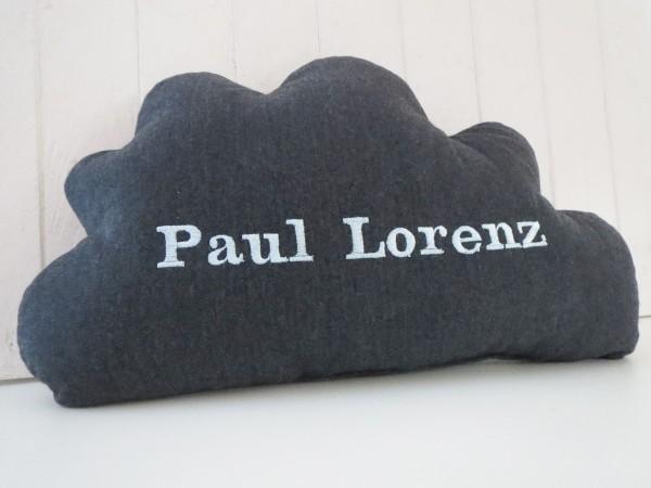 Kissen Wolke mit Namen