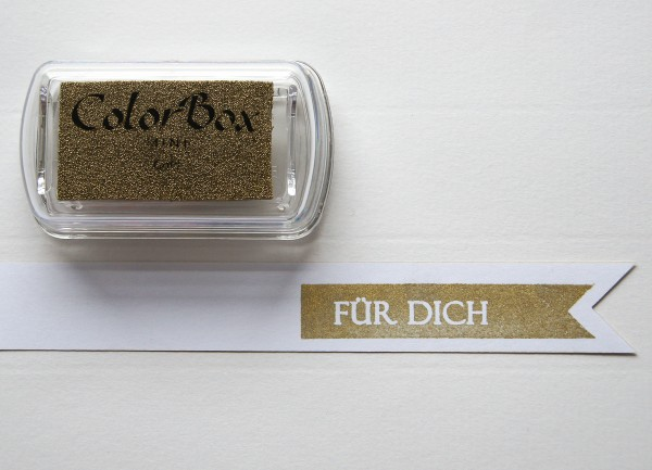 Pigment Stempelkissen Gold / Gold
